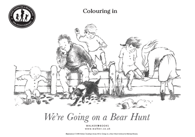 We Re Going On A Bear Hunt Printable Coloring Pages